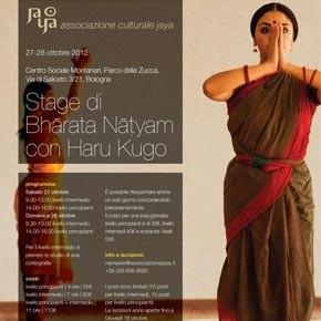 Workshop di Bharata Natyam con Haru Kugo