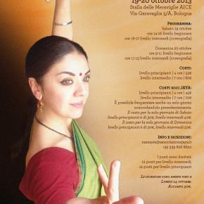 Stage di Bhārata Nāṭyam con Haru Kugo | sono aperte le iscrizioni!