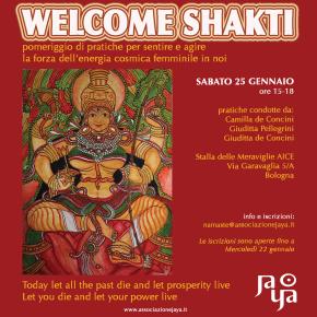 || WELCOME SHAKTI || 3 pratiche al servizio dell'energia femminile