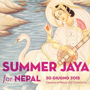 ॐ • SUMMER JAYA for NEPAL • ॐ  30 giugno @ Parco del Cavaticcio
