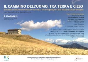 Seminario residenziale di oga, meditazione e antropologia