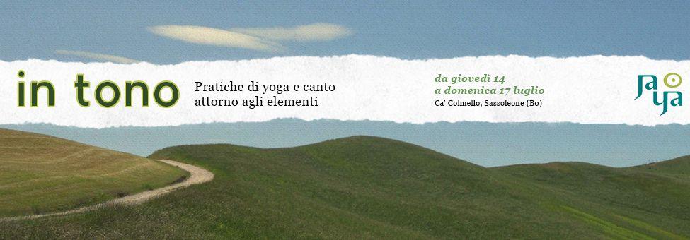 IN TONO :: Pratiche di yoga e canto intorno agli elementi